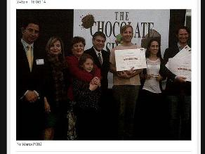 Ganadores de International Chocolate Awards 2014 recibirán reconocimiento