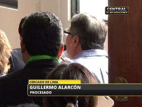 Guillermo Alarcón: La Fiscalía está pidiendo para mí la pena de muerte