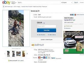 Una mujer se subasta en eBay para conseguir pareja