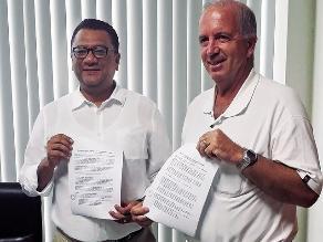Minagri y región Ica firman alianza para garantizar provisión de agua