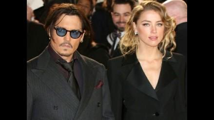 ¡Johnny Depp y Amber Heard ya son marido y mujer!