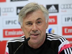 Carlo Ancelotti y su estrategia para ganar el derbi sin James y Ramos