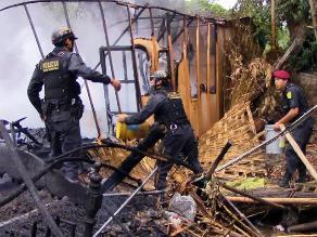 Tumbes: incendio consumió tres casas en Barrio El Pacífico