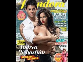 Andrea San Martín hizo topless para publicación nacional