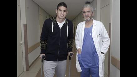Real Madrid: James Rodríguez operado