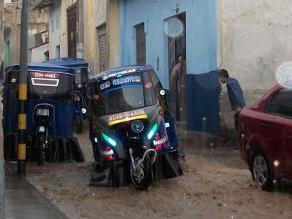 Áncash: seis mototaxis se accidentaron por lluvias en Caraz