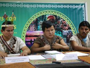 Loreto: indígenas suspenden medida de bloqueo de río Tigre
