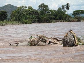 Loreto: aumenta número de afectados por desborde del río Huallaga