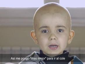YouTube: conmovedor video de un niño que pide donantes de médula