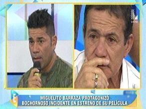 Miguel Barraza:
