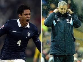 José Mourinho califica a Raphaël Varane como el mejor defensa del mundo