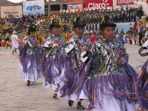 Puno: hoy se celebra la víspera de las festividades de la Virgen de la Candelaria