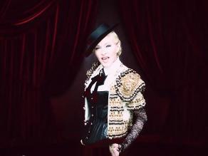 Madonna estrena videoclip convertida en torera