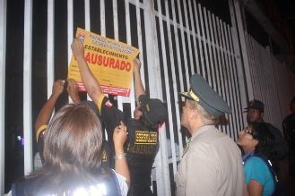 Clausuran y multan tres establecimientos en Chiclayo