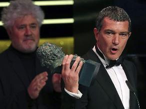Goya 2015: Antonio Banderas dedicó premio a su hija
