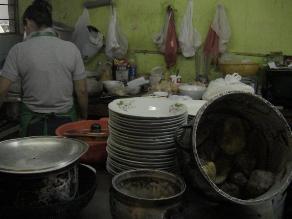 Sanidad identificó 125 locales de comida insalubre en Chiclayo