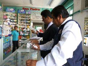 Lambayeque: operativos y empadronamiento para formalizar sector farmacéutico