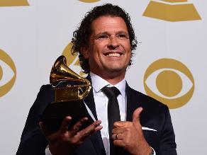 Grammy 2015: Presidente Santos felicita a Carlos Vives por premio