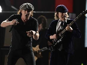 Grammy 2015: la potencia de AC/DC abrió la gala 57 de premios
