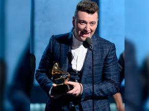 Grammy 2015: Sam Smith logró premió a 'Canción del año'