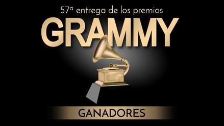 Foto interactiva: conoce a los ganadores de los Grammy 2015