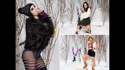 WWE: Paige y Brie Bella disfrutan esquiando antes de entrar al ring