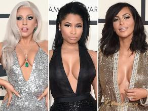Grammy 2015: ellas compitieron por el escote más sexy