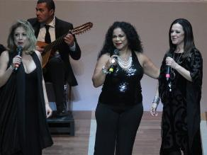 Eva Ayllón presentó su último espectáculo