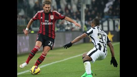 Milan acusa a Juventus de manipular la transmisión del partido