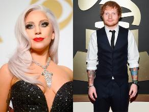 Lady Gaga confundió a Ed Sheeran con un camarero