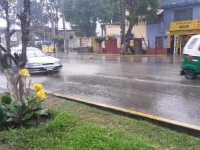 Fuerte lluvia asusta a chosicanos