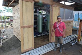 Agua potable para comunidades nativas en Loreto