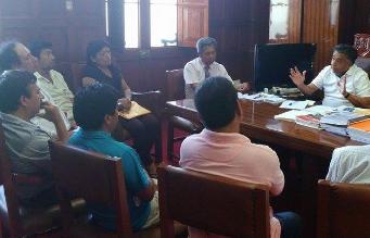 Chiclayo: alcalde se reunió con dirigentes de comerciantes desalojados