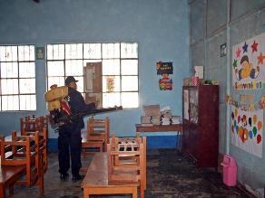 Lambayeque: fumigarán mil colegios contra mosquitos y roedores