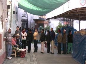 Arequipa: lluvias agravan infraestructura de hospital Goyeneche