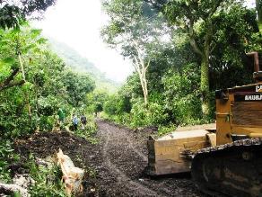 Yurimaguas: pobladores esperan rehabilitación de forma parcial de la vía