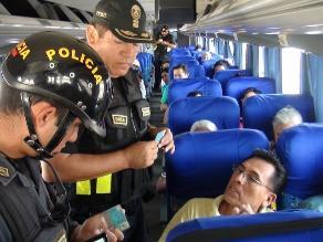 Chiclayo: Sutran ejecutará Plan Viaje Seguro por el Día de la Amistad