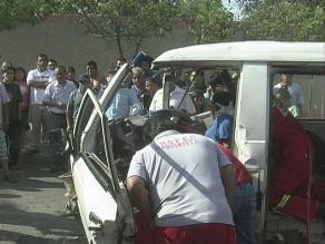 Arequipa: cuatro comerciantes fallecieron en violento accidente vehicular