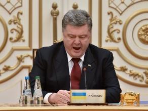 Poroshenko: No fue nada fácil alcanzar el acuerdo de alto al fuego