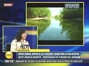 Pacaya Samiria: 12 mil personas visitan la reserva al año