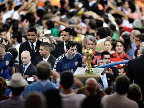 Messi: Imagen de su decepción en Brasil 2014 gana el World Press Photo