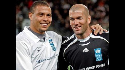 Ronaldo y Zidane jugarán un partido para recaudar fondos contra el ébola