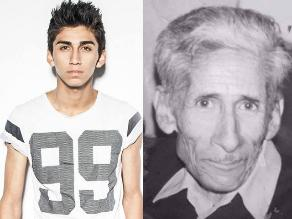 Daniel Lazo llora la muerte de su abuelo