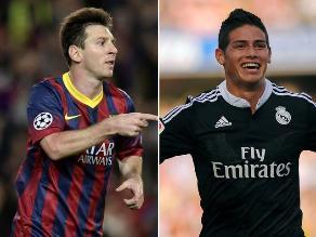 Lionel Messi y James Rodríguez inspiran a jóvenes atletas en serie de videos