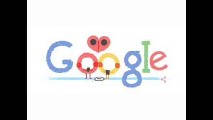 Google también celebra el Día de San Valentín