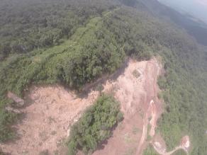 San Martín: torres de energía eléctrica a punto de colapsar