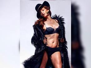 Cindy Crawford: publican foto sin retoques de la modelo