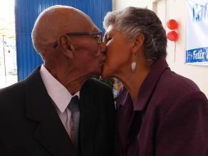 Una bella historia de amor que nació en un Centro de Adulto Mayor (CAM)