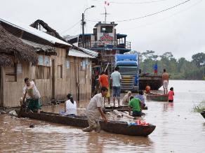 Yurimaguas: caudal del río Huallaga comienza a descender