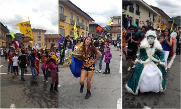 Cajamarca: se lleva a cabo concurso de patrullas y comparsas